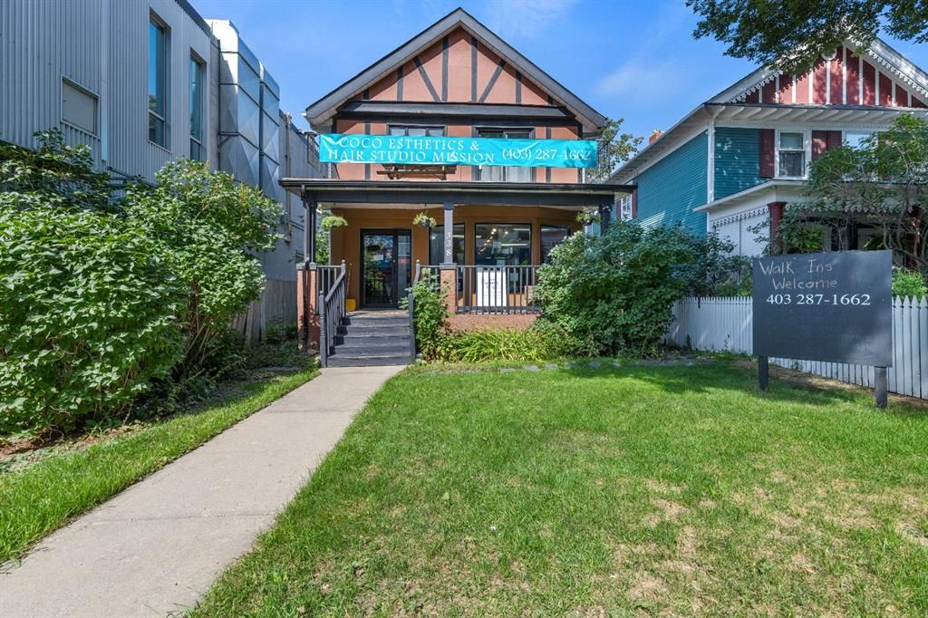 Main Photo: 338 24 Avenue SW in Calgary: Mission Retail for sale : MLS®# A1142167