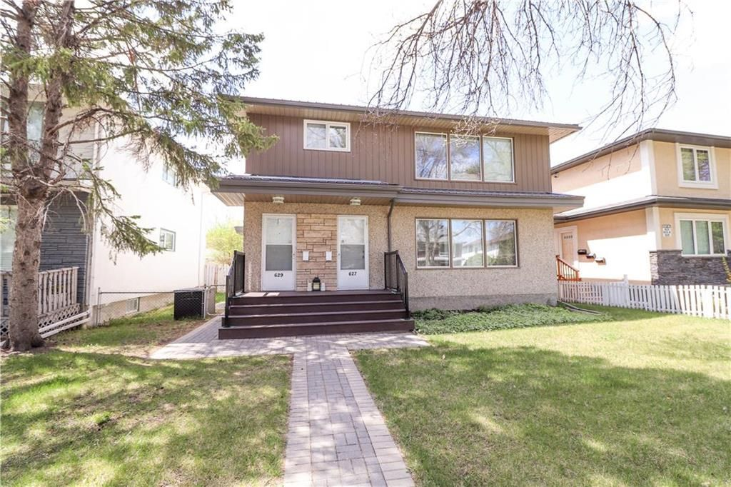 Beautiful maintenance free exterior with metal roof, siding, fascia, eaves, soffits as well as composite front step with metal railings.