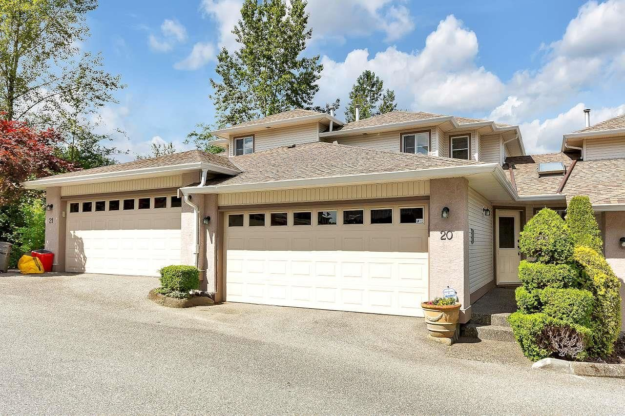 """Main Photo: 20 22751 HANEY Bypass in Maple Ridge: East Central Townhouse for sale in """"RIVERS EDGE"""" : MLS®# R2594550"""
