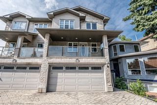 Main Photo: 606 25 Avenue NE in Calgary: Winston Heights/Mountview Semi Detached for sale : MLS®# A1129675