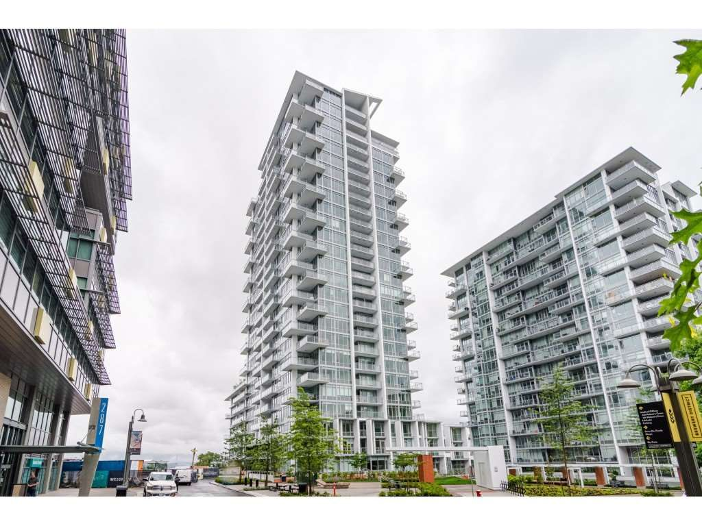 """Main Photo: 1306 258 NELSON'S Court in New Westminster: Sapperton Condo for sale in """"THE COLUMBIA AT BREWERY DISTRICT"""" : MLS®# R2472326"""