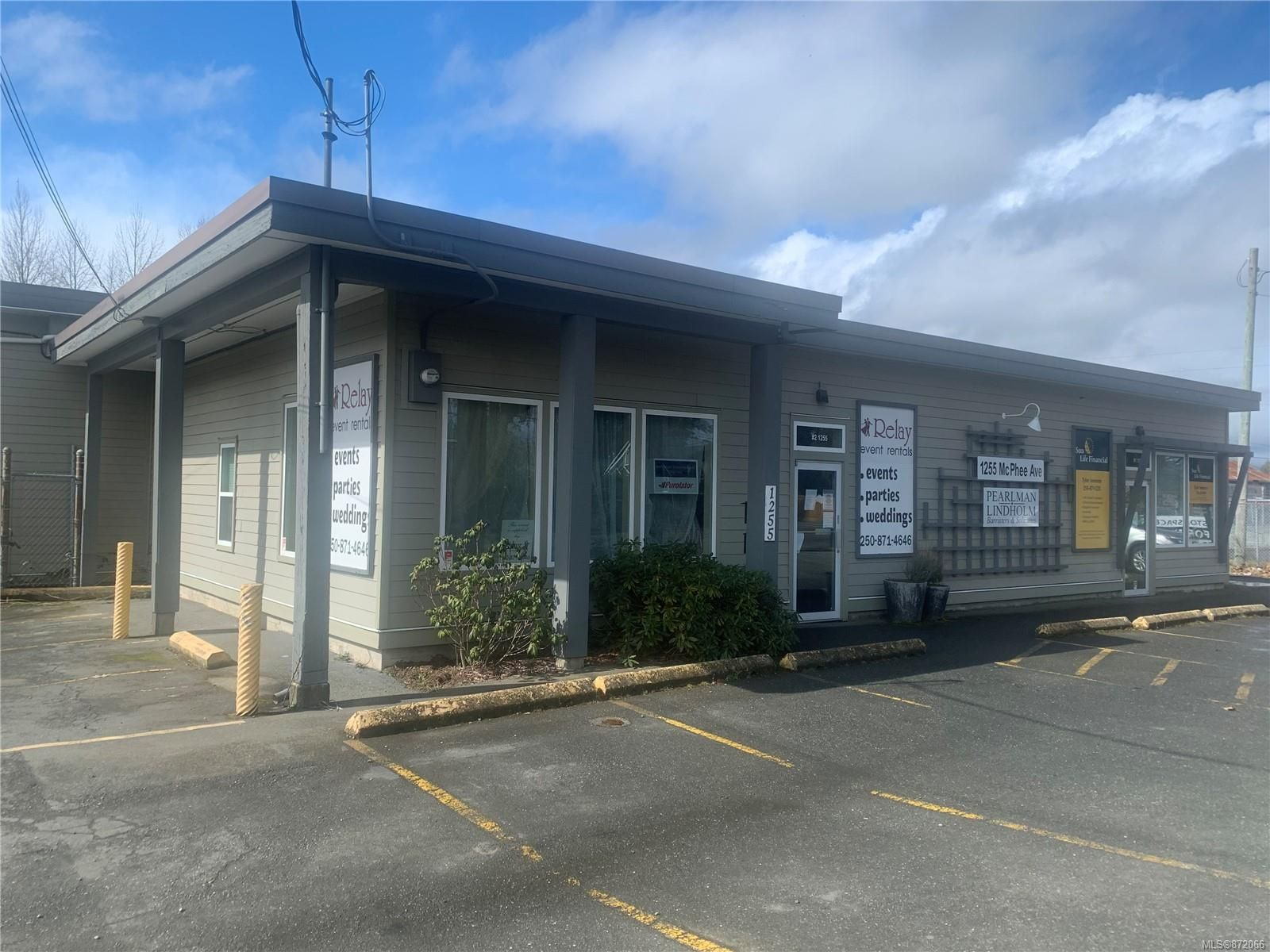 Main Photo: 1255 McPhee Ave in : CV Courtenay City Industrial for sale (Comox Valley)  : MLS®# 872066