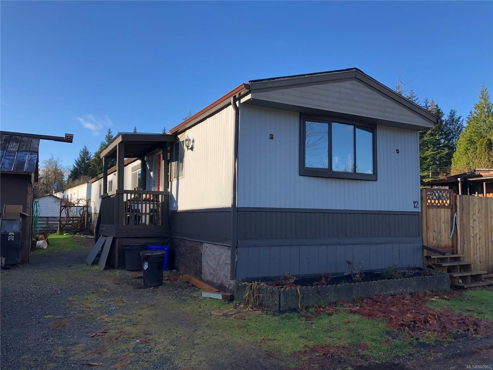 Main Photo: 12 2700 Woodburn Rd in : CR Campbell River North Manufactured Home for sale (Campbell River)  : MLS®# 860967