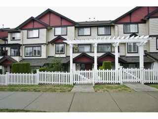 "Photo 1: 24 7168 179TH Street in Surrey: Cloverdale BC Townhouse for sale in ""OVATION"" (Cloverdale)  : MLS®# F1449821"