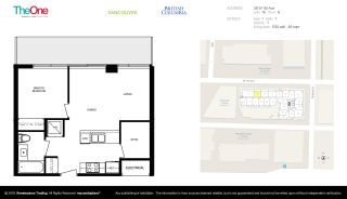 """Photo 22: 615 38 W 1ST Avenue in Vancouver: False Creek Condo for sale in """"The One"""" (Vancouver West)  : MLS®# R2527576"""