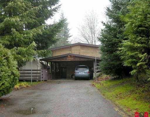 Main Photo: 20722 96TH AV in Langley: Walnut Grove House for sale : MLS®# F2525486