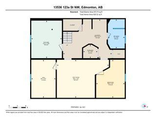 Photo 48: 13536 123A Street in Edmonton: Zone 01 House for sale : MLS®# E4240073
