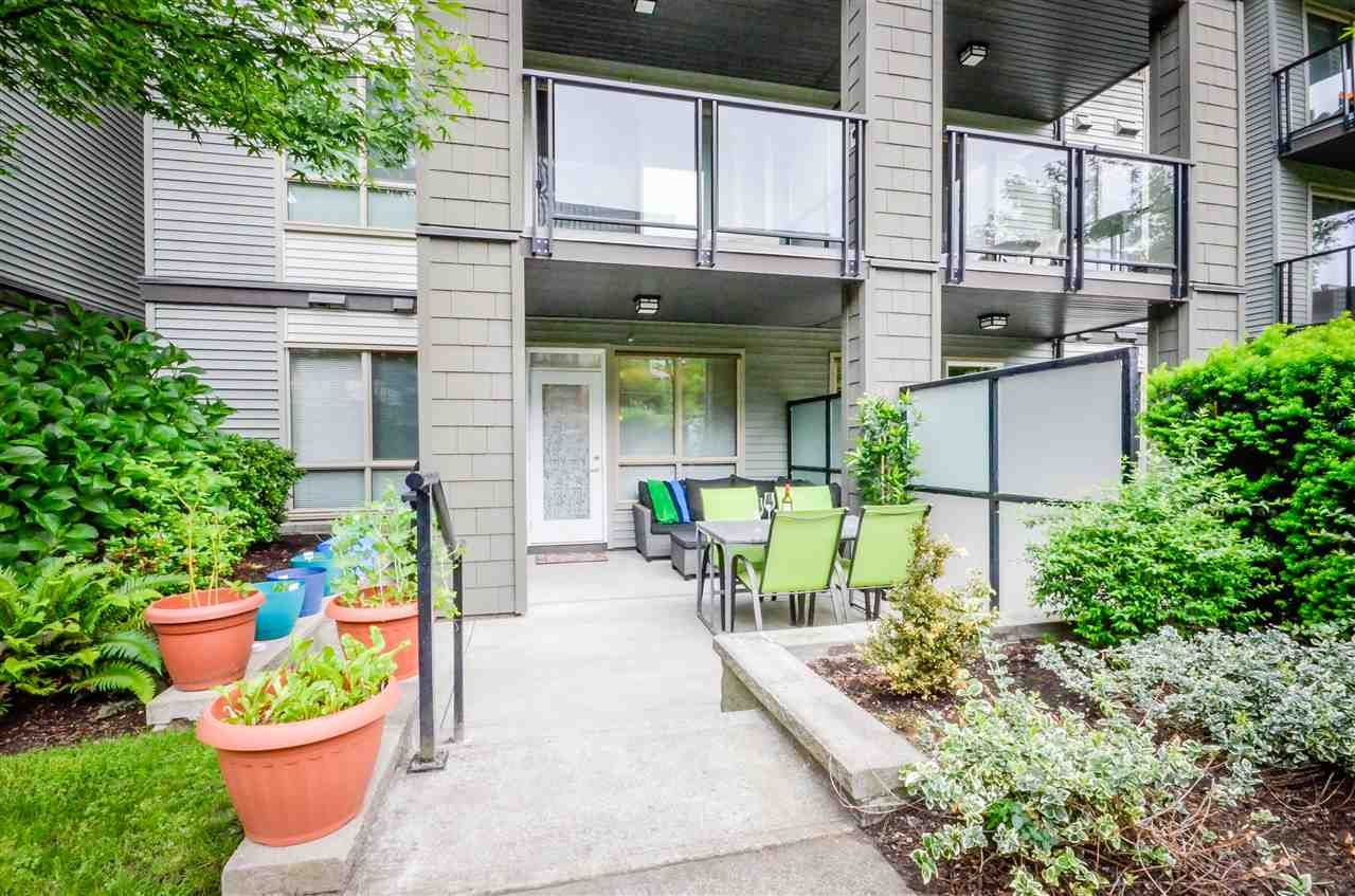 """Main Photo: 109 7478 BYRNEPARK Walk in Burnaby: South Slope Condo for sale in """"GREEN"""" (Burnaby South)  : MLS®# R2070047"""