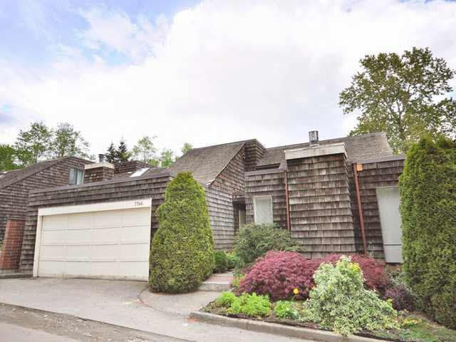 Main Photo: 7746 TEAKWOOD PLACE in : Champlain Heights Townhouse for sale : MLS®# V826106