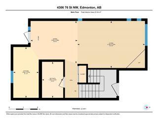 Photo 37: 4306 76 Street in Edmonton: Zone 29 House Half Duplex for sale : MLS®# E4254667