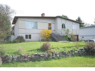 Photo 1: 4211 Panorama Dr in VICTORIA: SE High Quadra House for sale (Saanich East)  : MLS®# 666369