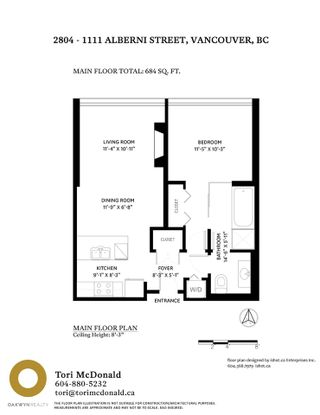 """Photo 30: 2804 1111 ALBERNI Street in Vancouver: West End VW Condo for sale in """"SHANGRI-LA"""" (Vancouver West)  : MLS®# R2514908"""