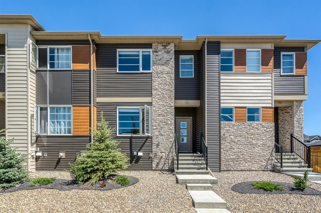 Main Photo: 70 Midtown Boulevard SW: Airdrie Row/Townhouse for sale : MLS®# A1126140