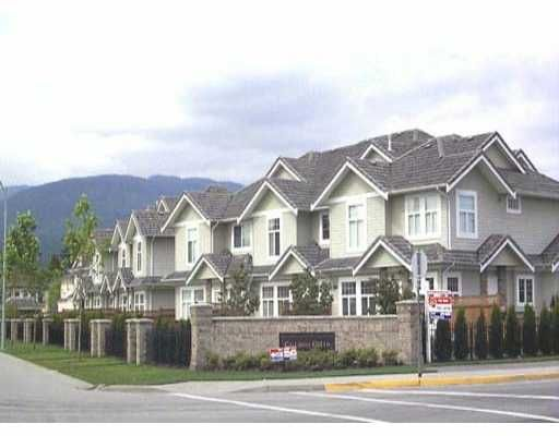 Main Photo: 53 1290 AMAZON DR in Port_Coquitlam: Riverwood Townhouse for sale (Port Coquitlam)  : MLS®# V321730