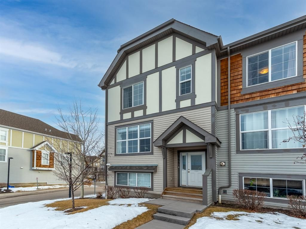 Main Photo: 144 130 New Brighton Way SE in Calgary: New Brighton Row/Townhouse for sale : MLS®# A1061476