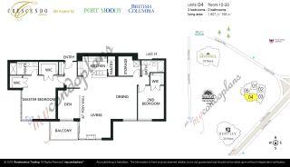 """Photo 23: 1504 288 UNGLESS Way in Port Moody: North Shore Pt Moody Condo for sale in """"CRESCENDO"""" : MLS®# R2519184"""