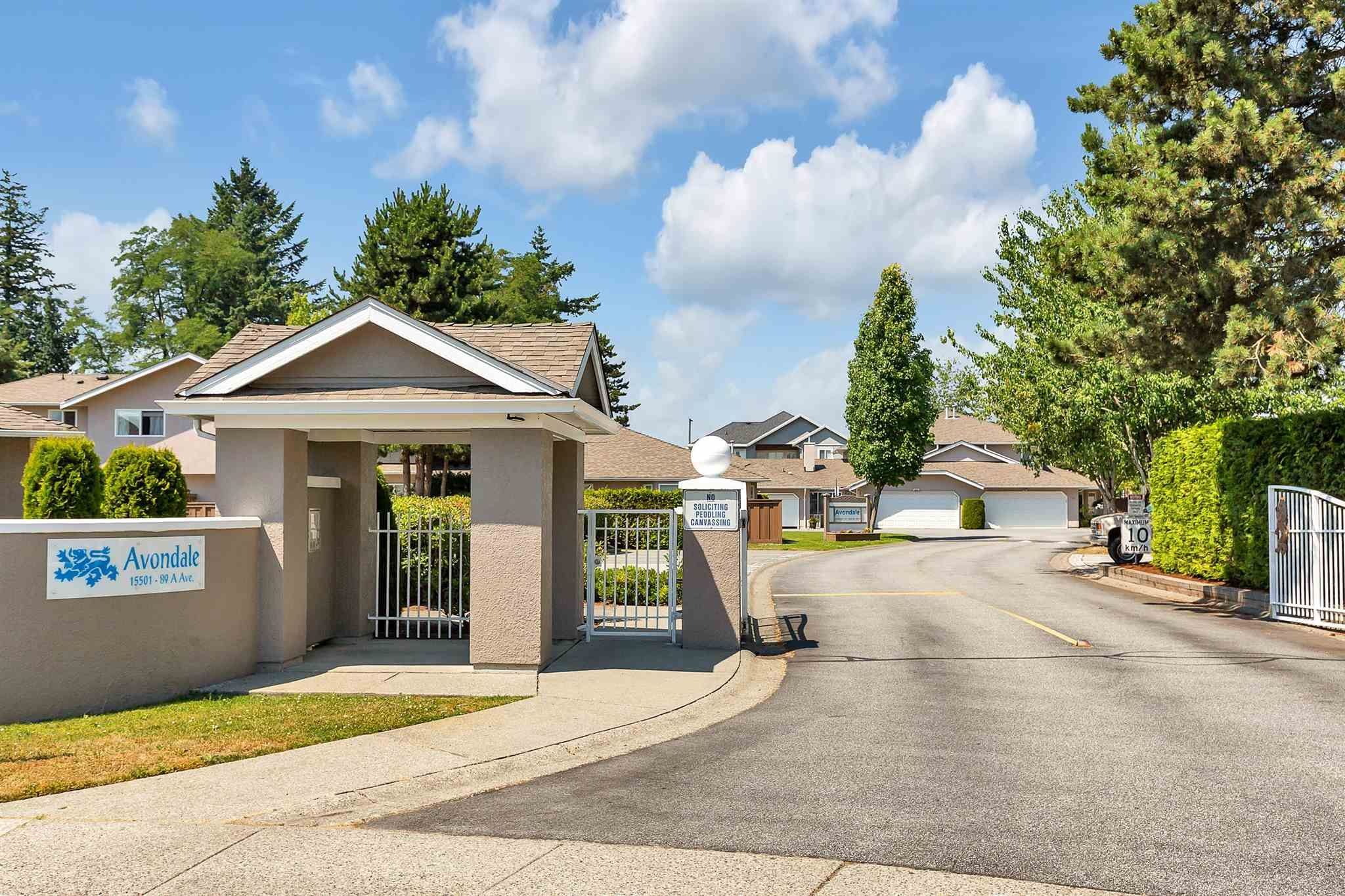 """Main Photo: 171 15501 89A Avenue in Surrey: Fleetwood Tynehead Townhouse for sale in """"AVONDALE"""" : MLS®# R2597130"""