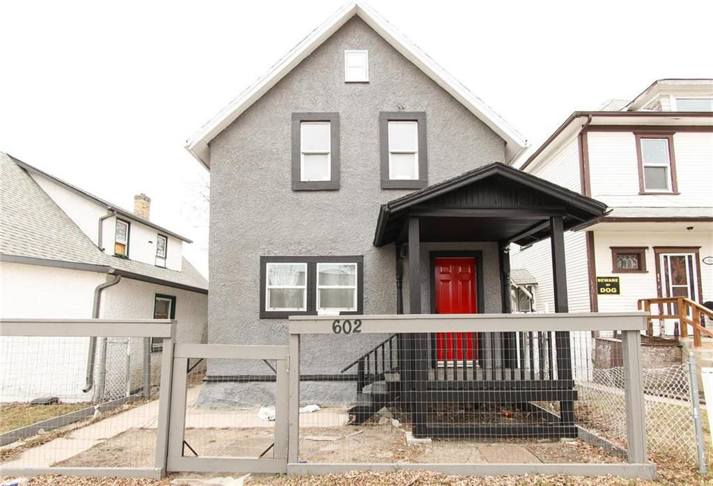 Main Photo: 602 Aberdeen Avenue in Winnipeg: North End Residential for sale (4A)  : MLS®# 202110518