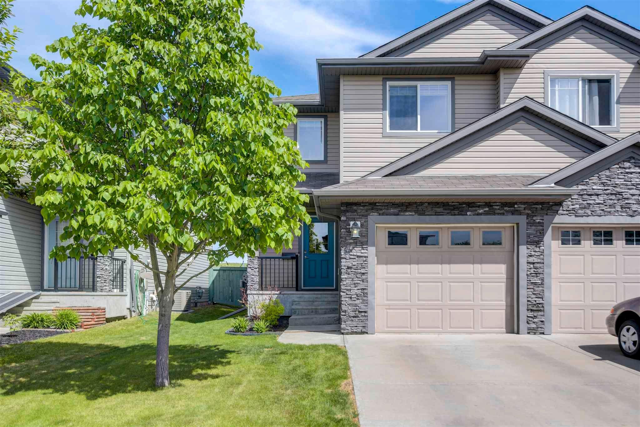 Main Photo: 42 WELLINGTON Place: Fort Saskatchewan House Half Duplex for sale : MLS®# E4248267