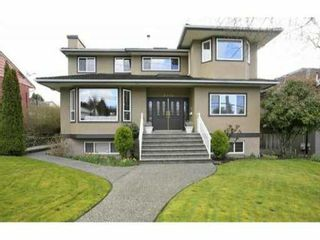 """Photo 1: 7970 PATTERSON Avenue in Burnaby: South Slope House for sale in """"SOUTH SLOPE"""" (Burnaby South)  : MLS®# V970639"""