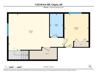 Photo 35: 1 532 56 Avenue SW in Calgary: Windsor Park Row/Townhouse for sale : MLS®# A1150539