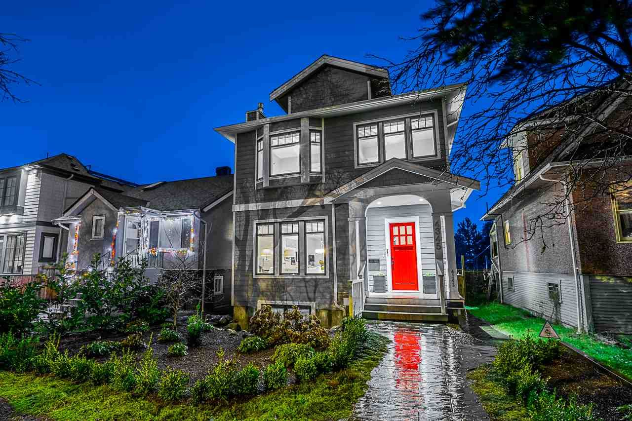 Main Photo: 4345 PRINCE ALBERT Street in Vancouver: Fraser VE House for sale (Vancouver East)  : MLS®# R2529703