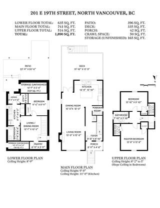 """Photo 26: 201 E 19TH Street in North Vancouver: Central Lonsdale House for sale in """"Finlay's Row"""" : MLS®# R2591250"""