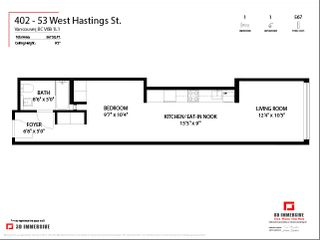 "Photo 23: 402 53 W HASTINGS Street in Vancouver: Downtown VW Condo for sale in ""Paris Block"" (Vancouver West)  : MLS®# R2554831"