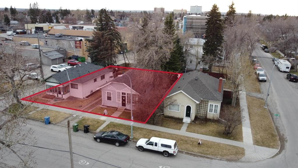 Main Photo: 1713-1717 2 Street NW in Calgary: Mount Pleasant Land for sale : MLS®# A1017582