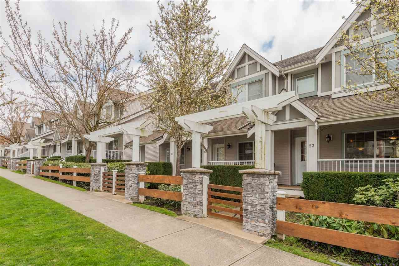"""Main Photo: 23 6555 192A Street in Surrey: Clayton Townhouse for sale in """"CARLISLE AT SOUTHLANDS"""" (Cloverdale)  : MLS®# R2562434"""