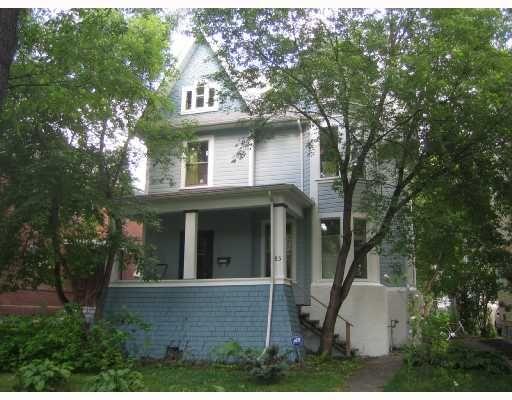 Main Photo: 85 CANORA Street in WINNIPEG: West End / Wolseley Residential for sale (West Winnipeg)  : MLS®# 2816759