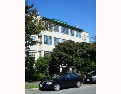 Main Photo: #202 - 2091 Vine Street in Vancouver: Kitsilano Condo  (Vancouver West)  : MLS®# V783607