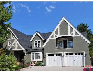 Photo 1: 13345 AMBLE WOOD DR in Surrey: House for sale (Canada)  : MLS®# F2823973