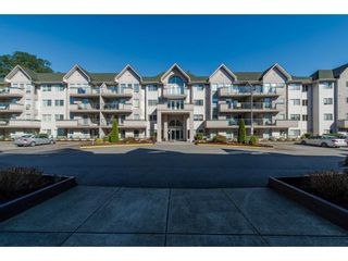 "Photo 1: 112 33738 KING Road in Abbotsford: Poplar Condo for sale in ""College Park"" : MLS®# R2138684"