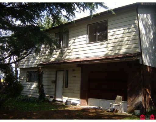 Main Photo: 7936 HURD Street in Mission: Mission BC House for sale : MLS®# F2811412