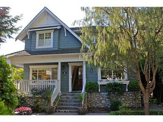 Photo 1: 1373 20TH Street in West Vancouver: Ambleside House for sale : MLS®# V1030085
