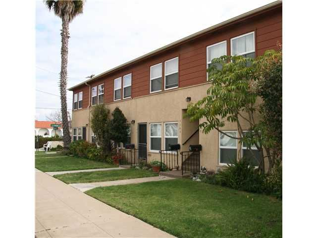Main Photo: POINT LOMA Residential for sale or rent : 1 bedrooms : 3040 Canon in San Diego