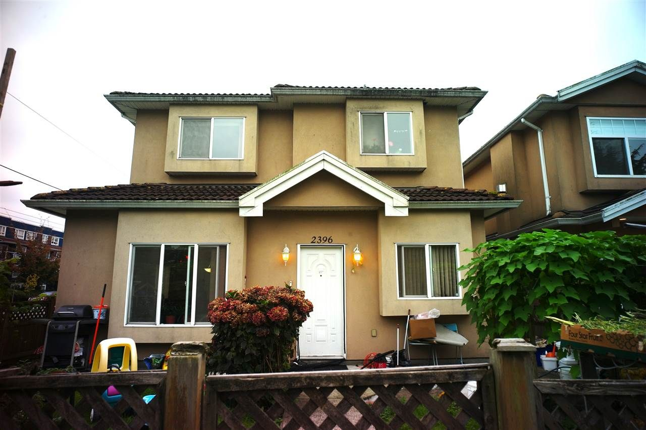 Main Photo: 2396 CAMBRIDGE Street in Vancouver: Hastings 1/2 Duplex for sale (Vancouver East)  : MLS®# R2504162