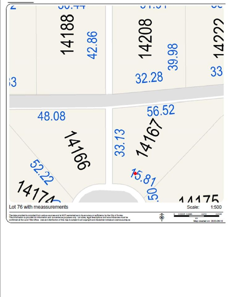 """Main Photo: 14167 83 Avenue in Surrey: Bear Creek Green Timbers Land for sale in """"Brookside Estates"""" : MLS®# R2463837"""