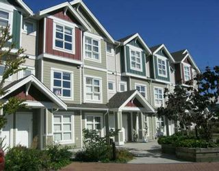 """Photo 1: 13028 NO 2 Road in Richmond: Gilmore Townhouse for sale in """"WATERSIDE VILLAGE"""" : MLS®# V610582"""