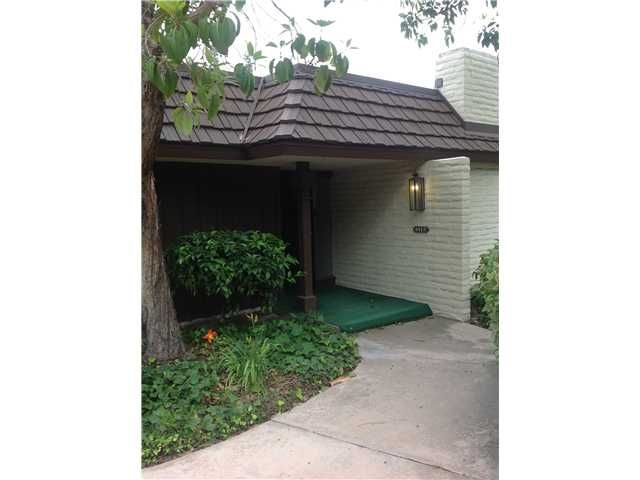 Main Photo: SAN DIEGO Condo for sale : 2 bedrooms : 4412 Collwood Lane