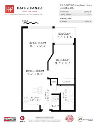 """Photo 21: 512 9009 CORNERSTONE Mews in Burnaby: Simon Fraser Univer. Condo for sale in """"THE HUB"""" (Burnaby North)  : MLS®# R2507886"""