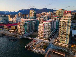 """Photo 2: 801 185 VICTORY SHIP Way in North Vancouver: Lower Lonsdale Condo for sale in """"Cascade East At The Pier"""" : MLS®# R2591377"""