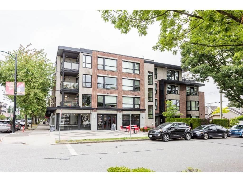 Main Photo: 404 2481 WATERLOO STREET in Vancouver: Kitsilano Condo for sale (Vancouver West)  : MLS®# R2517048