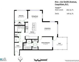 """Photo 20: 112 617 SMITH Avenue in Coquitlam: Coquitlam West Condo for sale in """"EASTON"""" : MLS®# R2239453"""