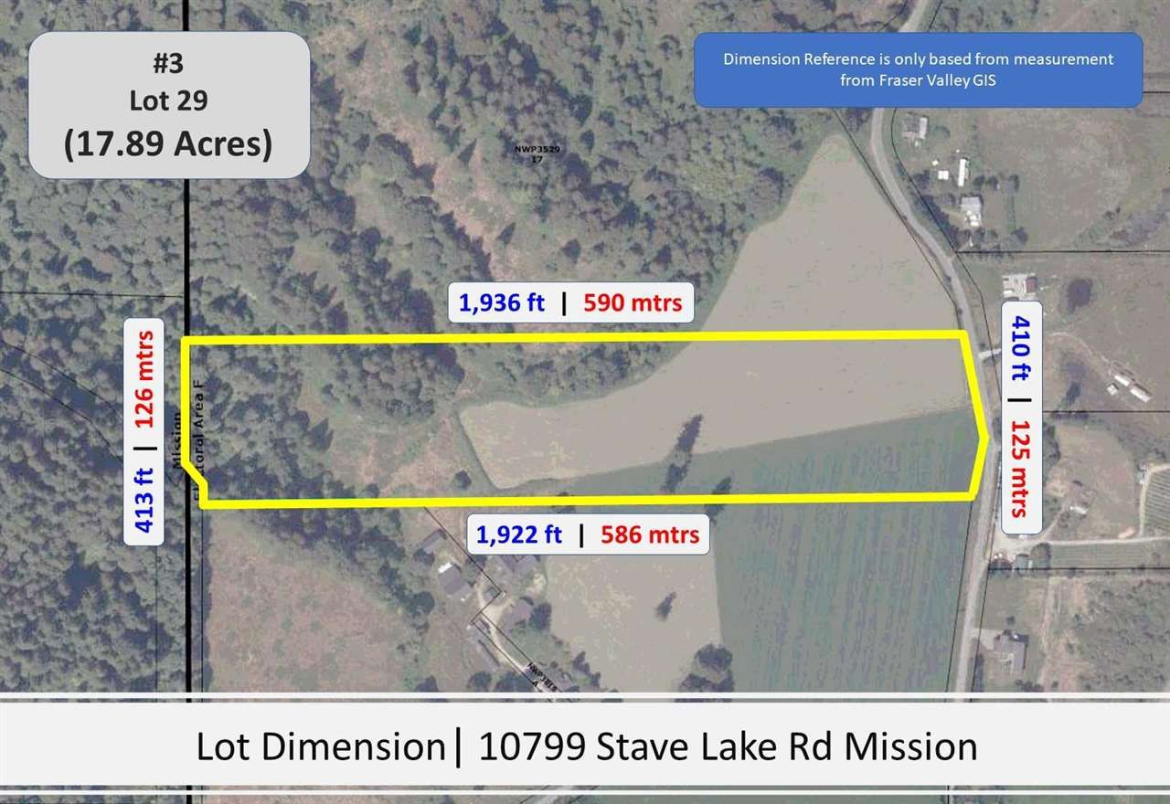 Photo 5: Photos: Sorrel 10577 STAVE LAKE Road in Mission: Durieu Land for sale : MLS®# R2583849