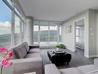 """Photo 6: 2602 520 COMO LAKE Avenue in Coquitlam: Coquitlam West Condo for sale in """"THE CROWN"""" : MLS®# R2342007"""