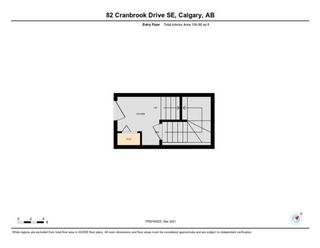Photo 32: 82 Cranbrook Drive SE in Calgary: Cranston Row/Townhouse for sale : MLS®# A1075225