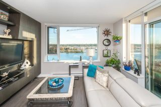 """Photo 4: 1911 668 COLUMBIA Street in New Westminster: Quay Condo for sale in """"Trapp + Holbrook"""" : MLS®# R2622258"""