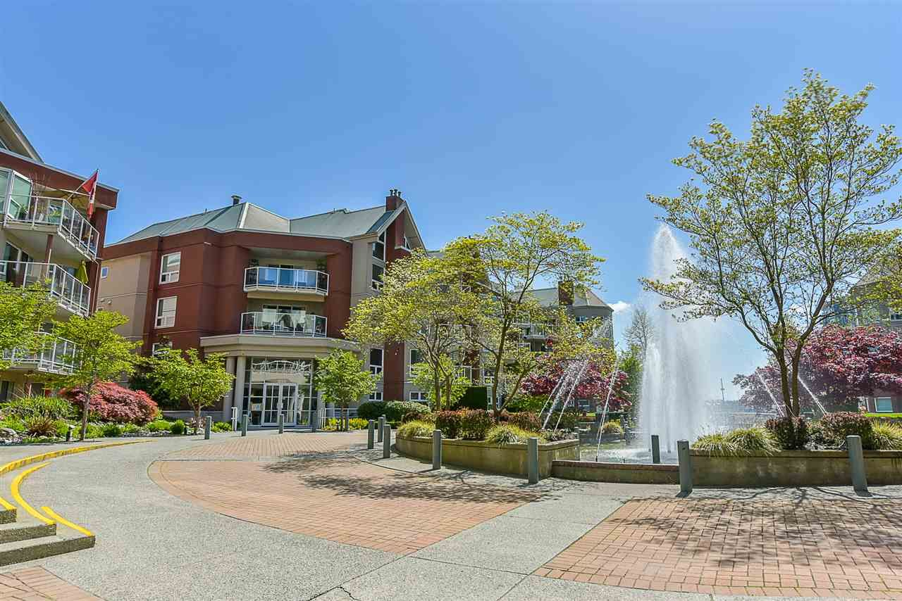 """Main Photo: 201A 1220 QUAYSIDE Drive in New Westminster: Quay Condo for sale in """"Tiffany Shores"""" : MLS®# R2451407"""